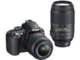 D3100 200mmダブルズームキット [ブラック] 製品画像
