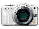 LUMIX DMC-GF3-W ボディ [シェルホワイト] 製品画像