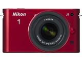 Nikon 1 J1 標準ズームレンズキット [レッド]