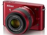 Nikon 1 J1 ダブルズームキット [レッド]
