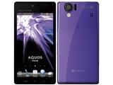 AQUOS PHONE 102SH SoftBank [イノセントパープル]