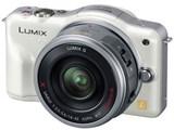 LUMIX DMC-GF3X-W 電動ズームレンズキット [シェルホワイト] 製品画像