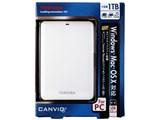 CANVIO HDTC610JW3A1 [ホワイト]
