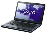 VAIO Cシリーズ VPCCA4AJ Core i3/メモリー4GB搭載モデル [14型ワイド ブラック] 製品画像
