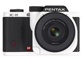 PENTAX K-01 ボディ [ホワイト×ブラック]
