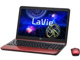 LaVie S LS550/HS6R PC-LS550HS6R [クロスレッド]