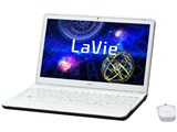 LaVie S LS550/HS6W PC-LS550HS6W [クロスホワイト]