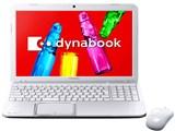 dynabook T552 T552/58FW PT55258FBFW [リュクスホワイト]