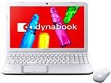 dynabook T552 T552/36FW PT55236FBFW [リュクスホワイト]