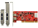 USB3.0R-P2-LPPCI [USB3.0] 製品画像