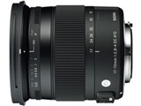 17-70mm F2.8-4 DC MACRO OS HSM [キヤノン用] 製品画像