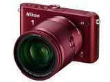 Nikon 1 J3 小型10倍ズームキット [レッド] 製品画像