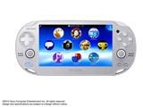 PlayStation Vita (プレイステーション ヴィータ) Wi-Fiモデル PCHJ-10007 [アイス・シルバー] 製品画像