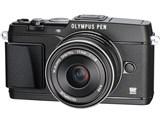 OLYMPUS PEN E-P5 17mm F1.8レンズキット [ブラック] 製品画像