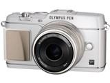 OLYMPUS PEN E-P5 17mm F1.8レンズキット [ホワイト] 製品画像