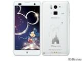 Disney Mobile on docomo F-07E [Pure White] 製品画像