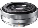 フジノンレンズ XF27mmF2.8 [シルバー] 製品画像