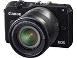 EOS M2 EF-M18-55 IS STM レンズキット [ブラック] 製品画像