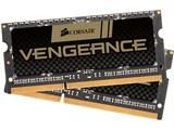CMSX16GX3M2B1600C9 [SODIMM DDR3L PC3-12800 8GB 2枚組] 製品画像