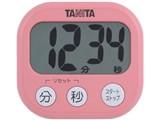 でか見えタイマー 100分計 TD-384 フランボワーズピンク 製品画像