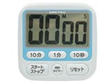 時計付大画面タイマー T-140 ブルー 製品画像