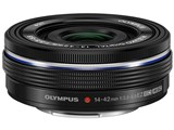M.ZUIKO DIGITAL ED 14-42mm F3.5-5.6 EZ [ブラック] 製品画像
