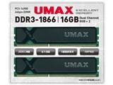 Cetus DCDDR3-1866-16GB [DDR3 PC3-14900 8GB 2枚組]