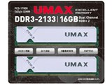 Cetus DCDDR3-2133-16GB [DDR3 PC3-17000 8GB 2枚組]