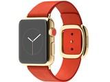 Apple Watch Edition 38mm Sサイズ MJ3G2J/A [18Kイエローゴールドケース/ブライトレッドモダンバックル]