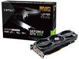 ZOTAC GeForce GTX 970 AMP! Extreme Edition NVIDIA Game Bundle 2014 ZTGTX97-4GD5EXT02/ZT-90103-10P [PCIExp 4GB]