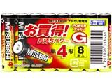 アルカリGH アルカリ乾電池 単4形 8本パック LR03GH/8S 製品画像