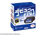 PlayStation Vita (プレイステーション ヴィータ) デビューパック 3G/Wi-Fiモデル (PCH-1000シリーズ) PCHJ-10026 [クリスタル・ブラック] 製品画像