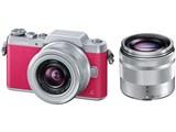 LUMIX DMC-GF7W-P ダブルズームレンズキット [ピンク] 製品画像