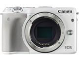 EOS M3 ボディ EVFキット [ホワイト] 製品画像