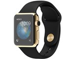 Apple Watch Edition 38mm MKL52J/A [18Kイエローゴールドケース/ブラックスポーツバンド]