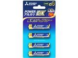 アルカリEX アルカリ乾電池 単4形 4本パック LR03EXD/4BP 製品画像