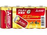 アルカリG アルカリ乾電池 単1形 4本パック LR20GD/4S 製品画像