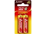 アルカリG アルカリ乾電池 単3形 2本パック LR6GD/2BP 製品画像