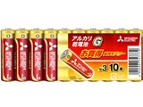 アルカリG アルカリ乾電池 単3形 10本パック LR6GD/10S 製品画像