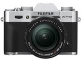 FUJIFILM X-T10 レンズキット [シルバー] 製品画像