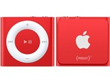 iPod shuffle (PRODUCT) RED MKML2J/A [2GB レッド] 製品画像