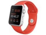 Apple Watch Sport 42mm MLC42J/A [オレンジスポーツバンド]