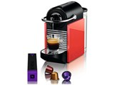 Nespresso PIXIE CLIPS D60-WR [ホワイト&コーラルレッド] 製品画像