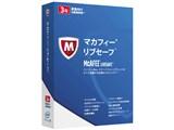 マカフィー リブセーフ 3年1ユーザー ダウンロード版 製品画像