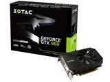 ZOTAC Geforce GTX 960 Single Fan 4GB ZTGTX96-4GD5R02/ZT-90311-10M [PCIExp 4GB] 製品画像