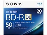 20BNR2VJPS4 [BD-R DL 4倍速 20枚組] 製品画像