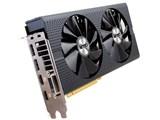 SAPPHIRE NITRO+ RADEON RX 480 8G GDDR5 PCI-E DUAL HDMI/DVI-D/DUAL DP [PCIExp 8GB] 製品画像
