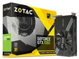 ZOTAC GeForce GTX 1060 Mini 3GB ZT-P10610A-10L [PCIExp 3GB] 製品画像