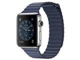 Apple Watch Series 2 42mm Lサイズ MNU62J/A [ミッドナイトブルーレザーループ] 製品画像