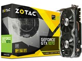 ZOTAC GeForce GTX 1070 Mini 8GB ZT-P10700K-10M [PCIExp 8GB] 製品画像